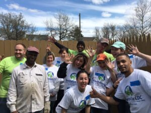 People volunteering for Revitalize CDC