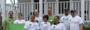 Volunteers for Revitalize CDC work day